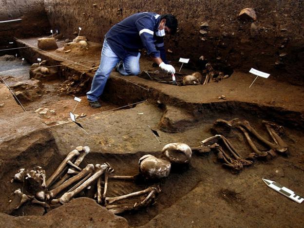 archeologie boz skeletten cusco