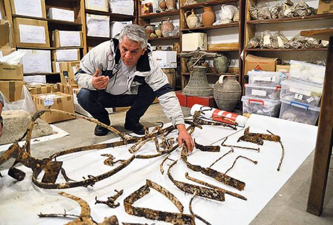 archeologie boz wagen