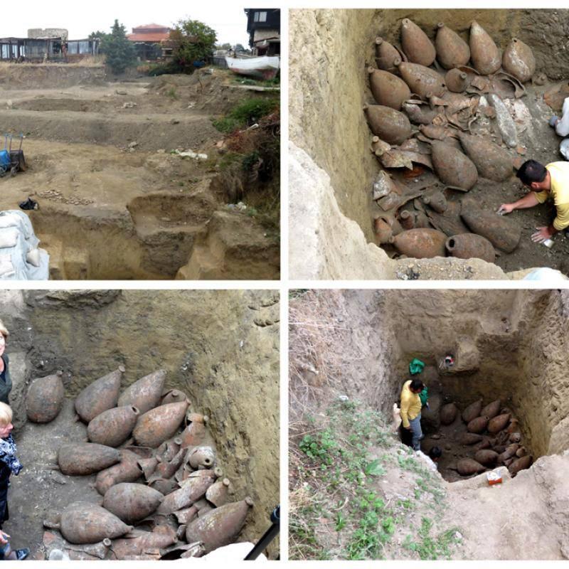 archeologie boz wijnkelder nesebar