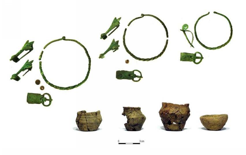 archeologie boz crematiegraven polen