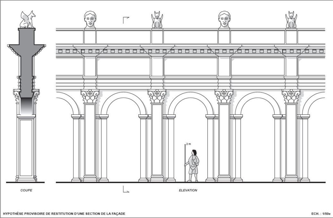 archeologie boz facade