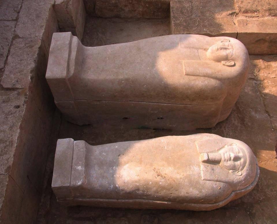 archeologie boz sarc 26e dynastie