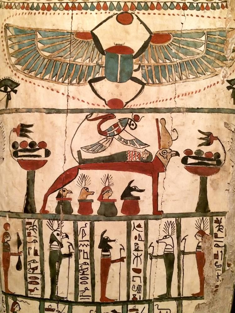 archeologie boz egyptische sarcofaag