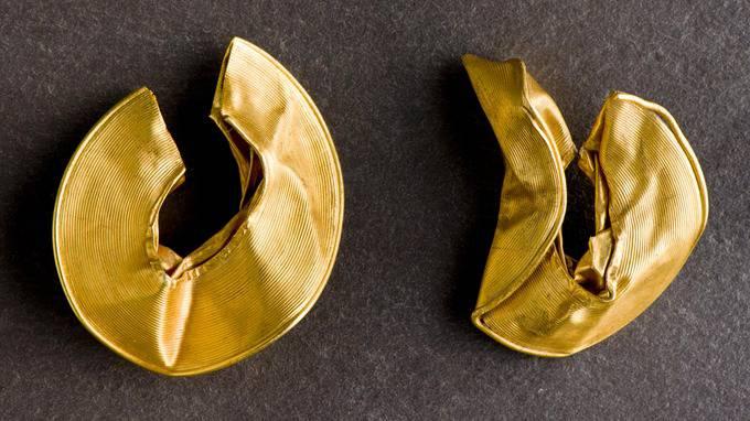 archeologie boz gouden ringen uk