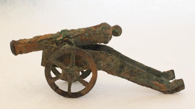 archeologie boz mini kanon