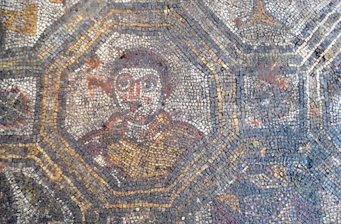 archeologieboz romeins mozaiek