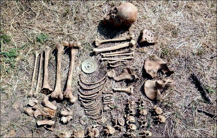 archeologie bos middeleeuwse vrouw