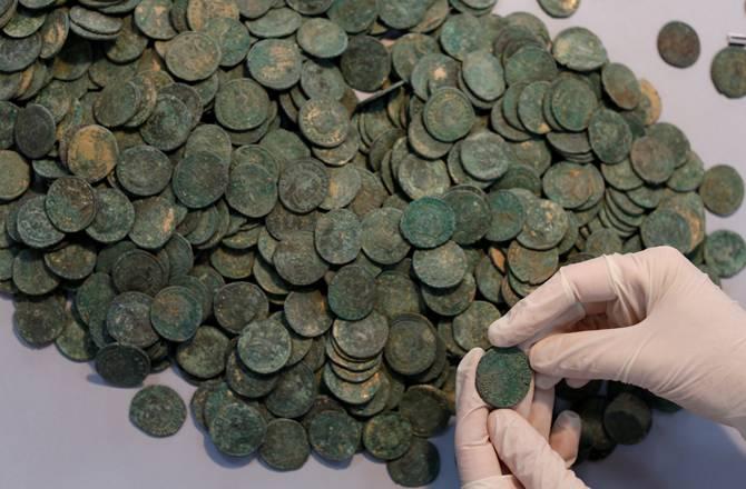 archeologie boz munten spanje