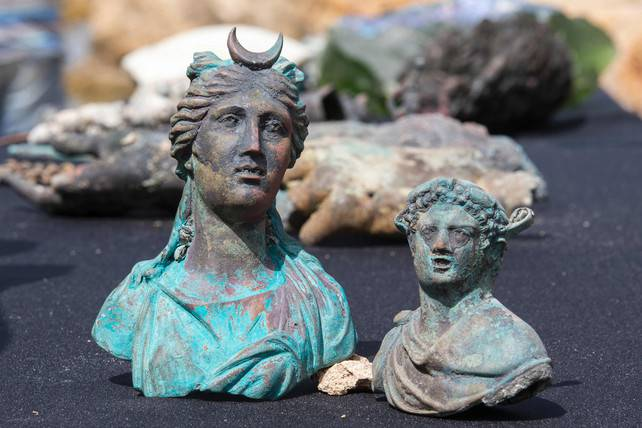 archeologie boz romeinse schat israel