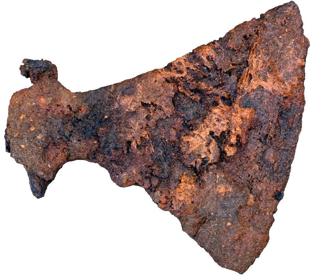 archeologie boz vikingbijl denemarken